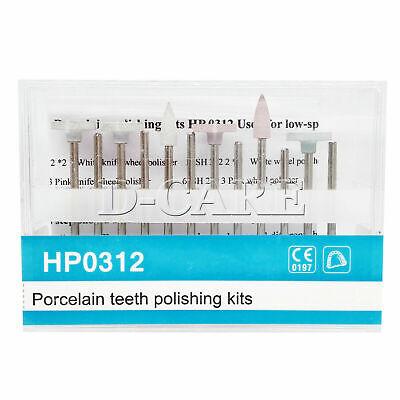 Dental Porcelain Denture Silicone Polishing Kit12 Kindshp 0312 2.35mm Shank