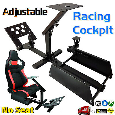 Steering Wheel Stand Racing Cockpit Simulator for Logitech G29 G920 Thrustmaster