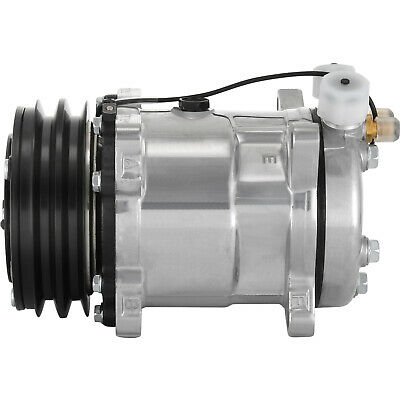 AC Compressor For SD508 Sanden Style V-Belt 2 Groove Pulley 3/4