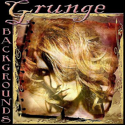 Digital Photography Backgrounds Grunge Backdrops Photoshop Templates & Borders Q