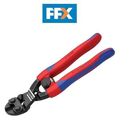 Knipex KPX7122200 CoBolt - Bolt Cutter 20 Deg Head 200mm 71 22 200