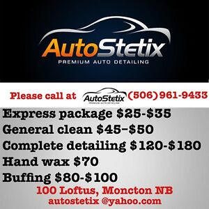 Premium car wash and detailing service