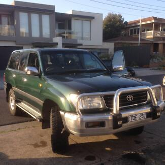 1999 Toyota LandCruiser 100 Series For Sale Moorabbin Kingston Area Preview