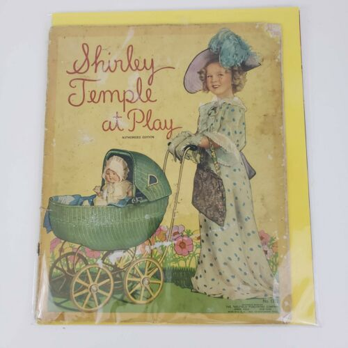 ORIGINAL 1935 Shirley Temple At Play Book Authorized Edition