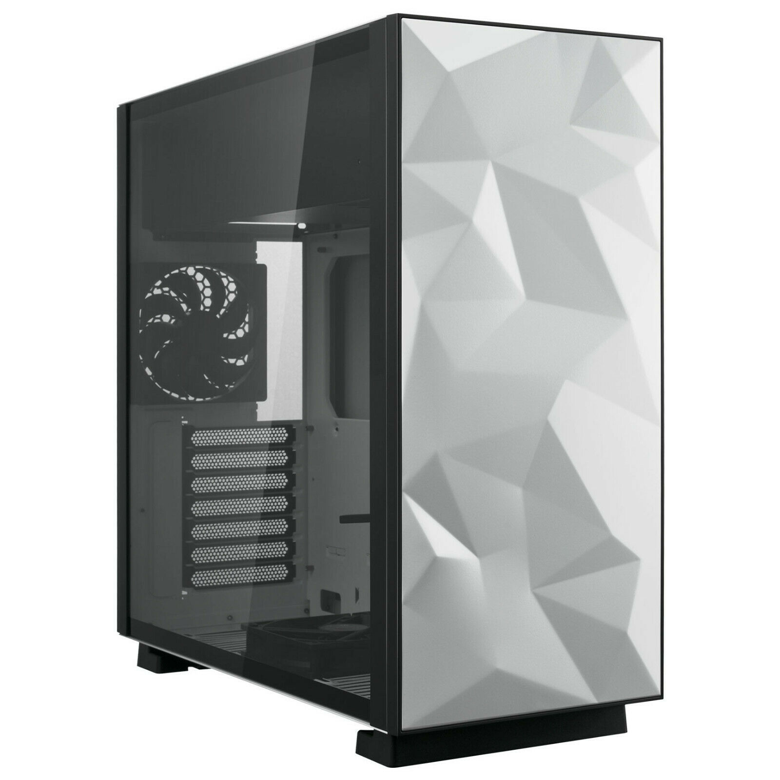 Rosewill ATX Mid Tower Gaming Computer Case with Tempered Gl