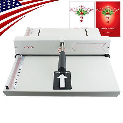 Ups A4 350mm Manual Scoring Paper Creasing Machine Creaser Scorer Magetic Office