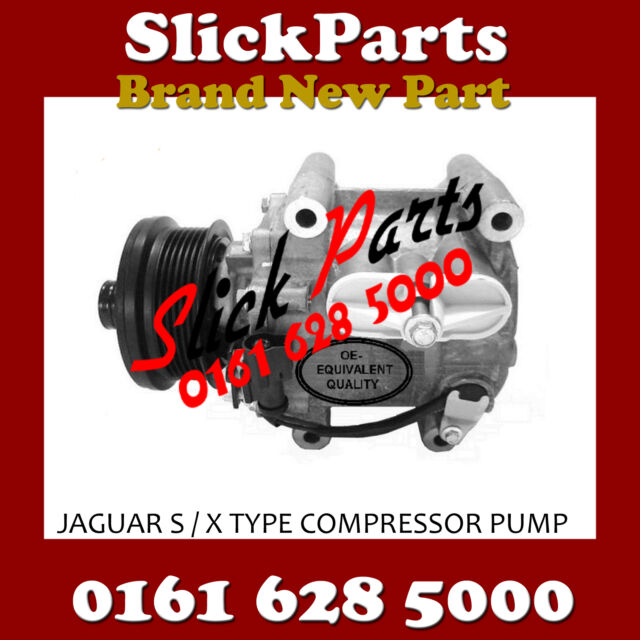 JAGUAR S TYPE / X TYPE AIR CON COMPRESSOR PUMP 1998 > 2008 *NEW*