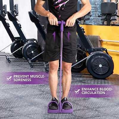 Bandas de Resistencia Látex Elasticas Tubo para Ejercicio Fitness Pilates Yoga