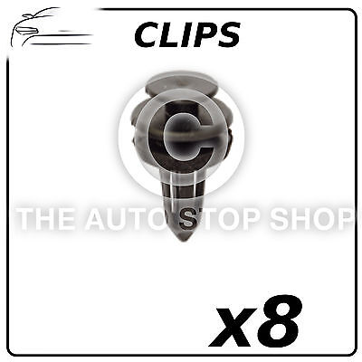 11391 Pack of 12 In Plastic Bag Clips Trim Clips 6,5 MM Peugeot 407 Part Number