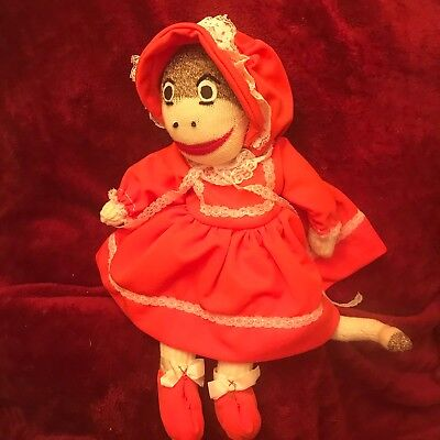 Sock Monkey Clothes (Sock Monkey Plush  Grandma No Brand 17