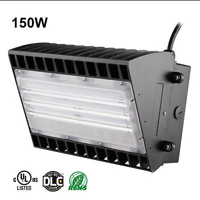 16000lm Perimeter Entrance Security Light Fixture Waterproof Outdoor Wall Pack