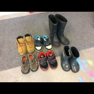 Assorted boys boots/shoes