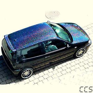 Big Metal Flakes Black Holo Auto Car Effektlack 50g (100g=23,98€)