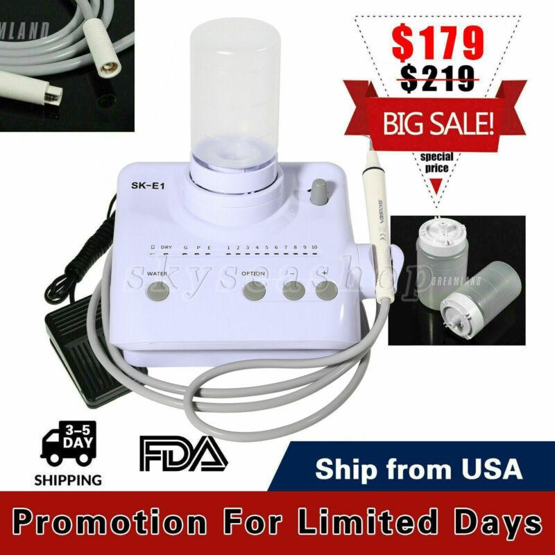 For Cavitron Dental Ultrasonic Scaler SKYSEA fit EMS Handpiece Tip+2 Bottles FDA