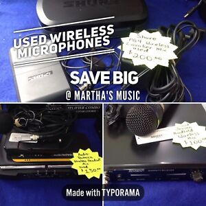 Used Wireless systems various models and prices