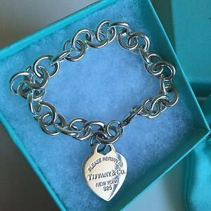 Tiffany&Co Return to Tiffany Charm Bracelet Sterling Silver 7.5'' Eight Mile Plains Brisbane South West Preview