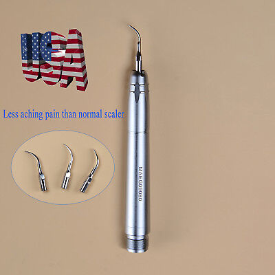 Nsk Style 2h Dental Ultrasonic Air Scaler Handpiece Sonic Perio Hygienist Usa