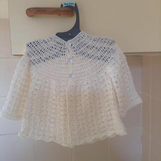 Silk Hand crocheted Baby Cardigans