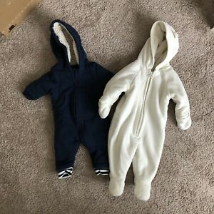 3-6 month snow suits