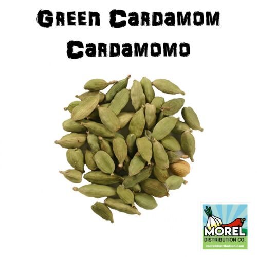 Whole Cardamom Pods/Seeds (Cardamomo) /1oz-2oz-4oz-6oz-8oz-12 oz-1 lb-2 lbs!