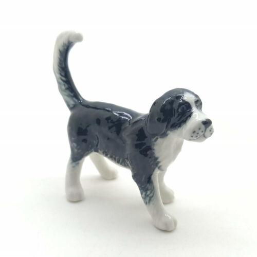Otterhound Dog Ceramic Figurine Animal Statue - CDG112