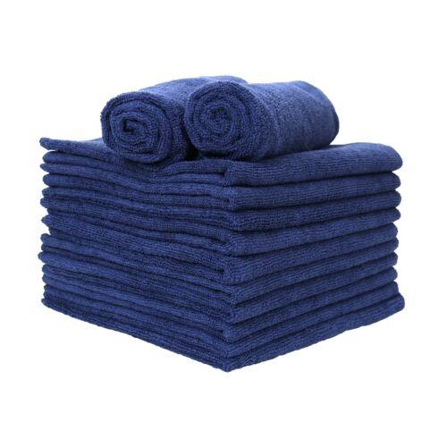 Microfiber Hand Towels 12 Packs - 16 x 27 Soft Reusable Absorbent Color Options