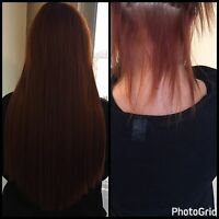 RUSSIAN HAIR EXTENSIONS -highest quality