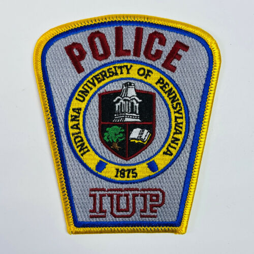 Indiana University of Pennsylvania Police Patch