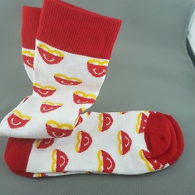 McDonalds Maccas Adult Socks Fries Chips Great Christmas Gift Free Post