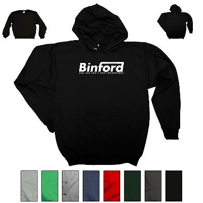 Binford Tools Funny Hooded Sweatshirt Home Improvement Tool