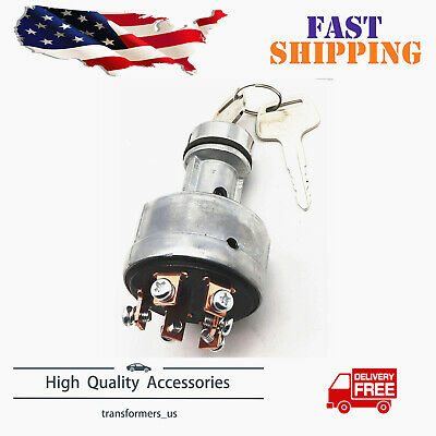 Tractor Ignition Starter Switch Fit For Kubota Iseki Yanmar Deere 650 750 850