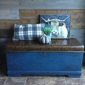 Waterfall vintage cedar chest