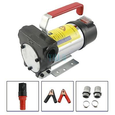 12v Fuel Oil Fuel Transfer Pump Kit For Kerosene Diesel 20gpm 3600rmin 175w