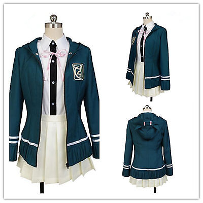 Купить Unbranded - Danganronpa Chiaki Nanami COSplay Costume Cos Jacket Dress School Girl Uniform
