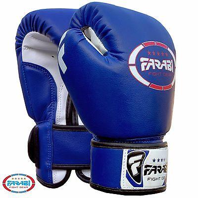 Farabi Kids Boxing gloves 4-oz best for kickboxing, Martial Arts, MMA, Muay Thai