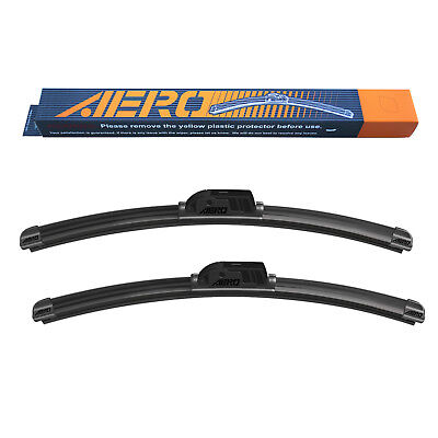 AERO Audi 2003 2008 A4 S4 A6 A4 OEM Quality All Season Windshield Wiper Blades