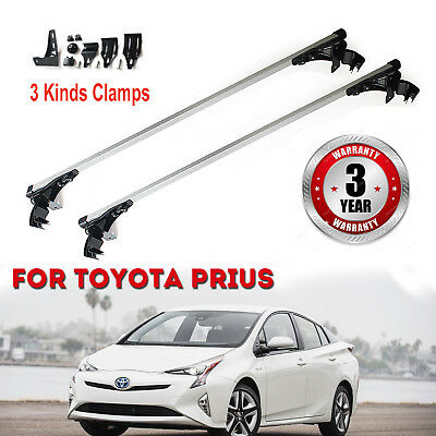 Car Top Roof Rack Bar For Snowboard Kayak Canoe Cargo Carrier Fit Prius 06-17