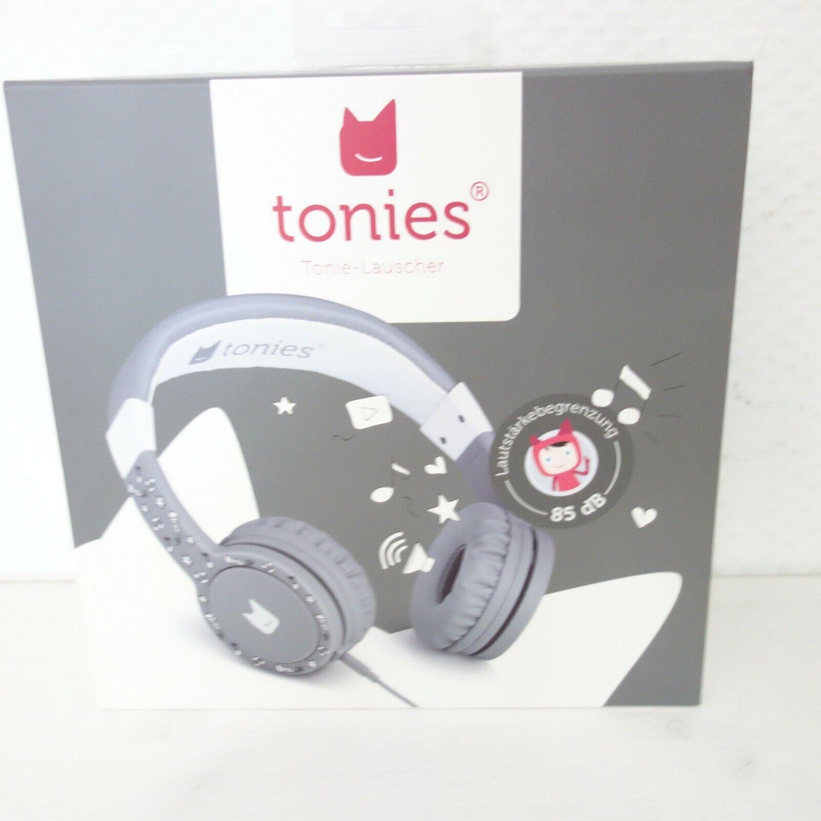 Tonies Tonie Lauscher Kopfhörer Lautstärkenbegrenzung Kinder Spielzeug Anthrazit