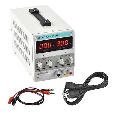 Mecor 5a 30v Dc Power Supply Adjustable Variable Dual Digital Test Lab