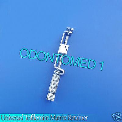 6 Tofflemire Pattern Matrix Retainer Universal Bands Dental Surgical Instrument