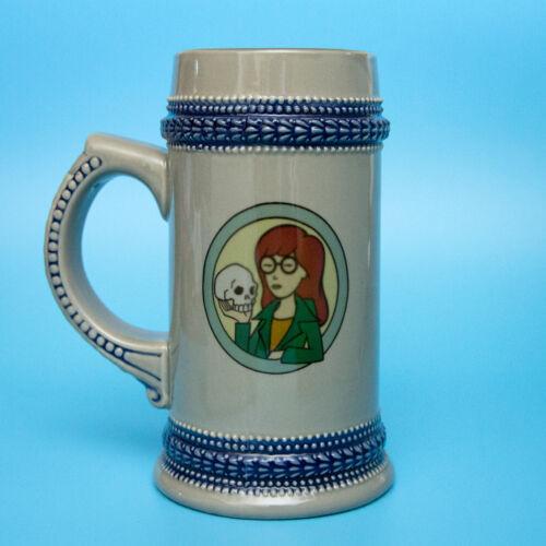 Rare MTV DARIA Skull Beer Stein / Coffee Mug | Shakespeare | Free Shipping !