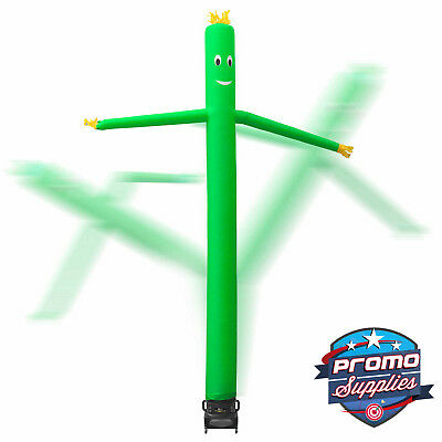 20 Inflatable Dancer Tube Dancing Guy Blower Fan - Green