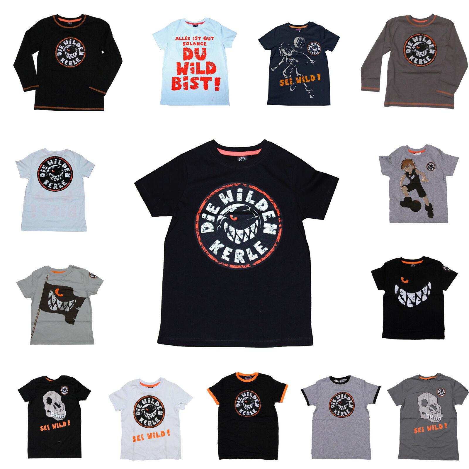 Langarm T-Shirt Disney Die Wilde Kerle Fußball Finale Jungs 98 104  128 152 164