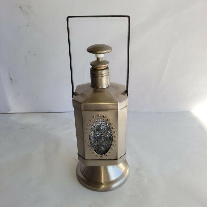 Vintage Musical Lantern Liquor Alcohol Decanter Plays BEER BARREL POLKA  Japan