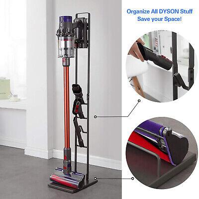 Metal Vacuum Cleaner Stand Rack Holder Bracket For Dyson V11 V10 V8 V7 V6 Black