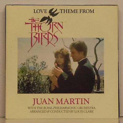 "JUAN MARTIN 'LOVE THEME FROM THE THORN BIRDS' UK PICTURE SLEEVE 7"" SINGLE"