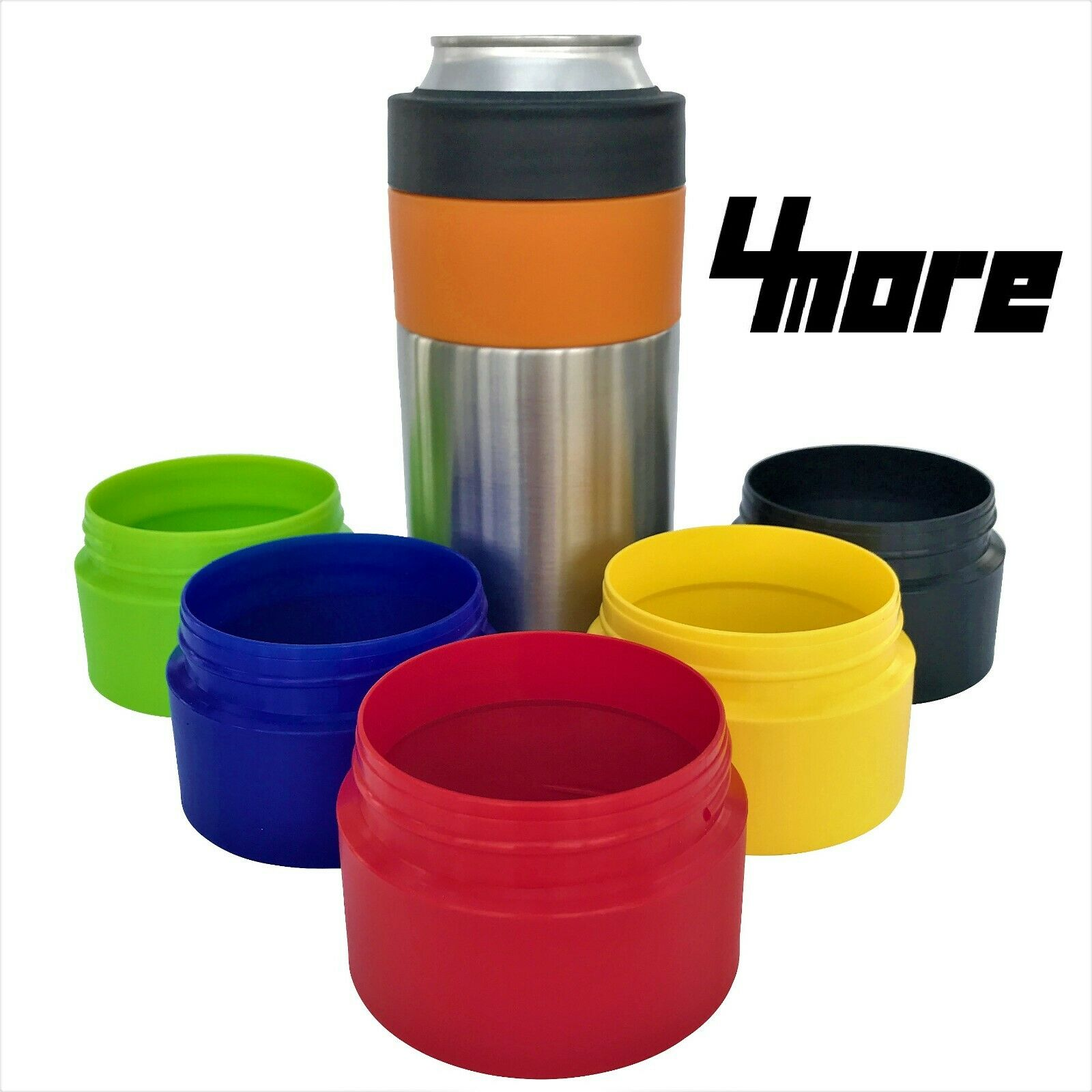 4more - 16oz Adapter for Yeti Colster, RTIC, Ozark Trail and