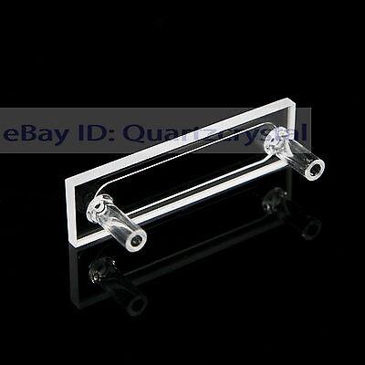 Quartz Flow Cuvette Cell 1mm Flowing Cuvettes Quartz Flow Cells