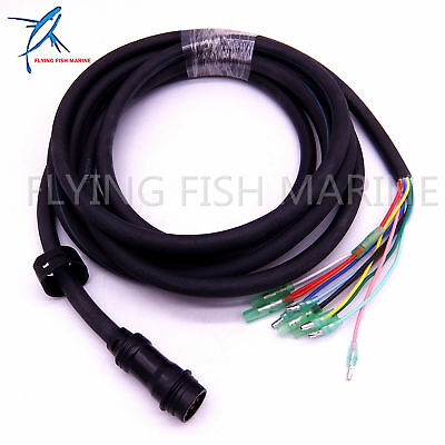 688-8258A-20 Cable Wire Harness for Yamaha 703 Remote Control Box 10 Pins 16.4FT