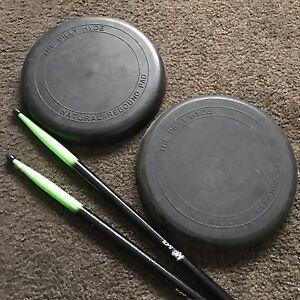 Drum practice pads and sticks Sydenham Brimbank Area Preview